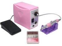 Аппарат для маникюра Nail Master ZS-701, 35000 об/мин, 65 Вт, розовый