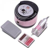 Аппарат для маникюра Nail Drill ZS-606, 35000 об/мин, 65 Вт, розовый