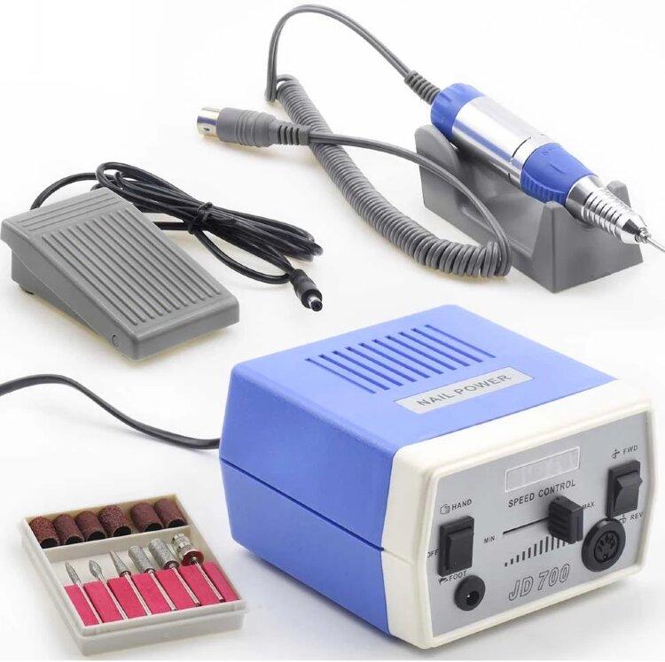 Аппарат для маникюра Nail Power JD-700, 30000 об/мин, 35 Вт