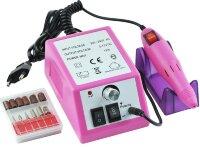 Аппарат для маникюра Lina Mercedes 20000 об/мин, 10 Вт, розовый