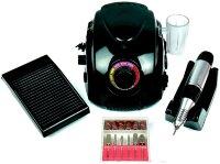 Аппарат для маникюра Nail Drill DM-996, 35000 об/мин, 65 Вт, черный