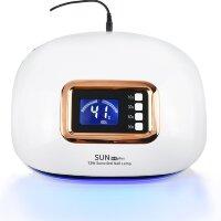 Лампа для ногтей SUN H4 Plus, UV/LED, гибридная, 72 Вт