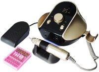 Аппарат для маникюра и педикюра JMD 306, 45000 об/мин, 80 Вт, золотой