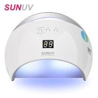 Лампа для маникюра SUN 6 SMART 2.0, UV/LED, гибридная, 48 Вт