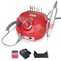 Аппарат для маникюра Nail Drill ZS-601, 45000 об/мин, 65 Вт, красный