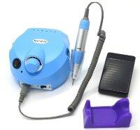 Аппарат для маникюра Nail Drill ZS-601, 45000 об/мин, 65 Вт, синий