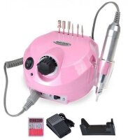 Аппарат для маникюра Nail Drill ZS-601, 45000 об/мин, 65 Вт, розовый
